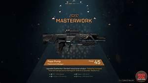 Anthem Legendary & Masterwork Weapons - Effects & Perks  Legendary