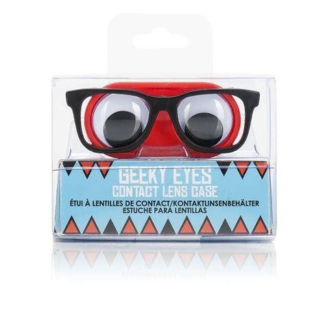 cuisiner des lentilles en boite etui à lentilles en forme de lunettes geeks originales