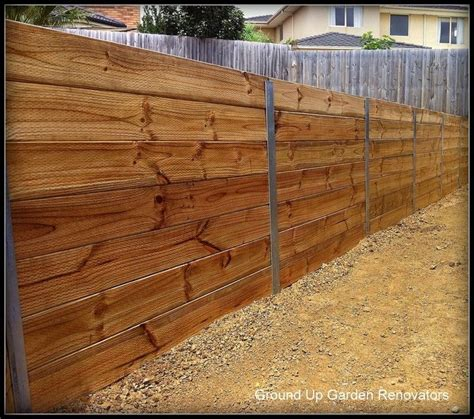 wood post retaining wall 1000 ideas about wood retaining wall on pinterest retaining walls building a retaining wall