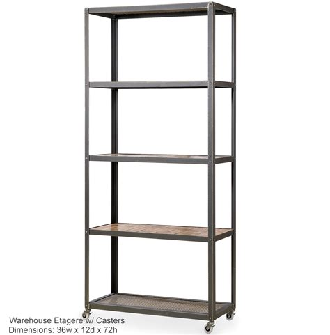 wrought iron etagere warehouse etagere