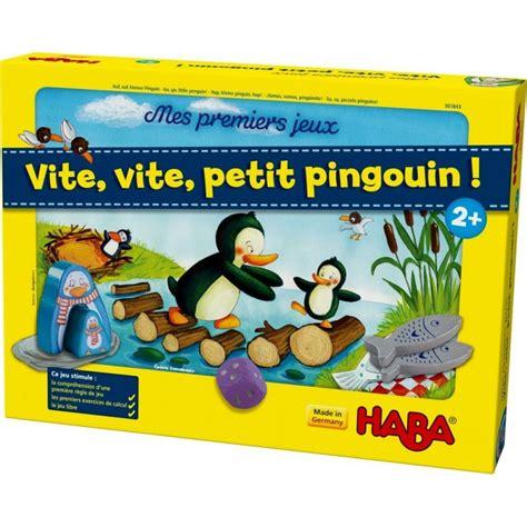 jeux cuisine pingouin vite vite petit pingouin collection mes premiers jeux haba