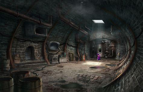 image  backyardigans underground lair production art