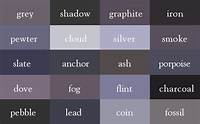 "shades of grey color It's ""Wine"", Not Dark Red - Here Are The Correct Names Of All Color Shades"