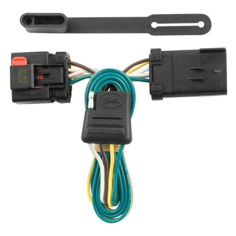 Factory Dodge 3500 Trailer Wiring Connector for dodge ram 3500 00 10 curt t connector adds 4 flat to