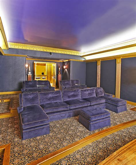 chaise cinema chaise sofa home theater rustic with leather chairs