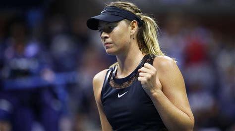 maria sharapovas  minute bathroom break turn heads   open tennis tennis hindustan times