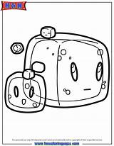 Minecraft Coloring Pages Cube Slime Gelatinous Drawing Cubes Slimes Cool Cartoon Sheets Enderman Block Doodles Lima Doodle Hmcoloringpages Pig Discover sketch template