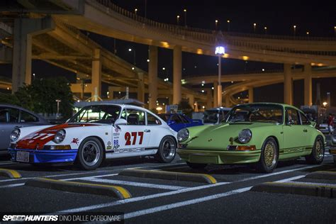 magnus walker japan meet speedhunters night porsche welcomes c1 daikoku redd lapping town porches couple coverage event