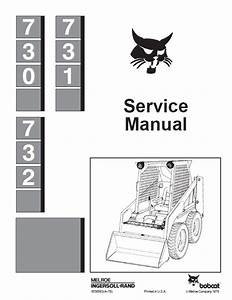 Bobcat 730 731 732 Skid Steer Loaders Service Manual Pdf