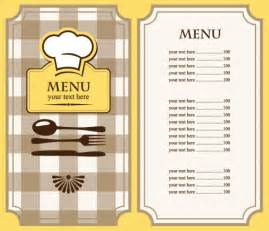 speisekarte design set of cafe and restaurant menu cover template vector 03 vector cover free
