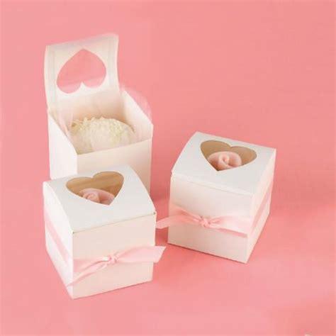 cupcake party favor box  peek  boo window candy