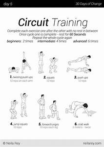 no equipment 30 day workout program 5k pinterest With circuit workout two