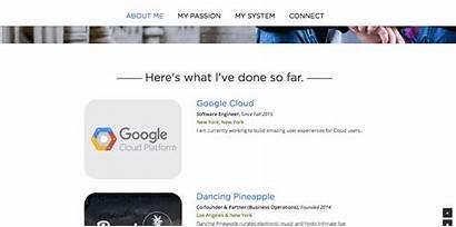 Personal Websites Sheng Ever Gary Seen Hub