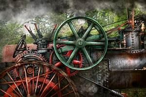 Steampunk - Machine - Transportation Of The Future