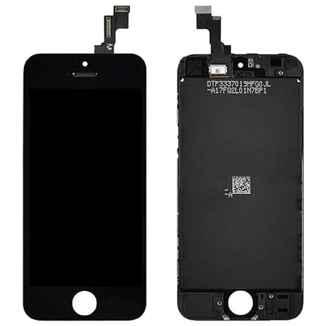 iphone 5s screen high quality lcd screen for iphone 5s black