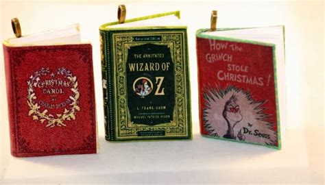 literary ornaments  book lovers apartment therapy