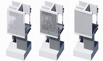 Facade 3d Architectural Drawings Arch Archicad Communicate