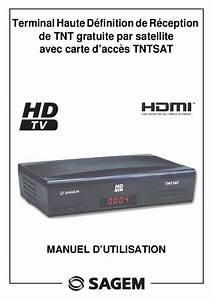 Decodeur Tnt Hd Satellite Sans Carte : notice sagem isd91 tntsat d codeur tnt trouver une ~ Dailycaller-alerts.com Idées de Décoration
