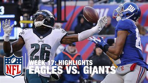 eagles  giants week  highlights nfl youtube