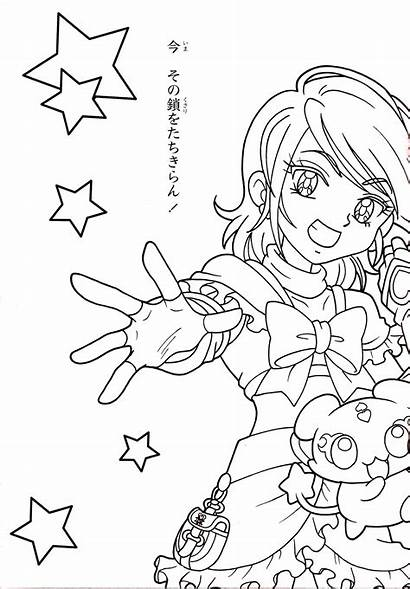 Coloring Cure Pages Precure Pretty Anime Nagisa