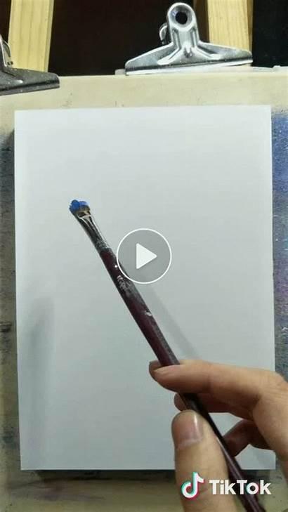 Painting Tiktok Paint Canvas Tik Tok Acrylic