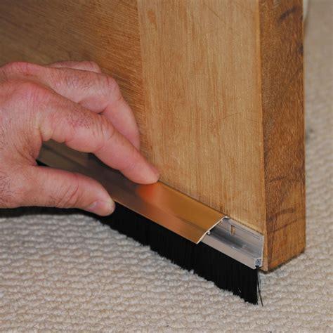 Stormguard Consealed Fixings Brush Door Bottom Strip