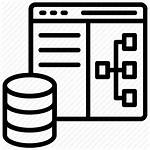 Database Icon Architecture System Management Schema Icons