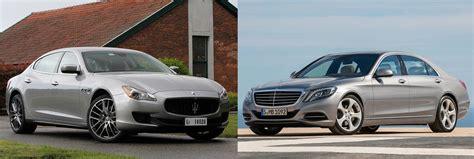 Maserati Quattroporte Or Mercedes Benz S Class Fiat