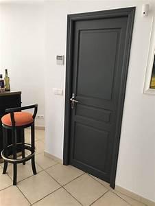 Porte Interieur Grise : r alisations relooking des portes de communication en ~ Mglfilm.com Idées de Décoration