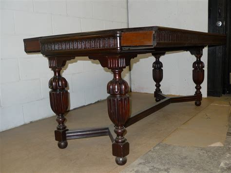 desk converts to dining table jacobean style white oak console dining desk table