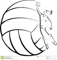 Girl Volleyball Player Clip Art