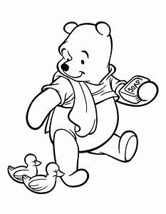 Winnie The Pooh Coloring Pages (3) - Coloring Kids