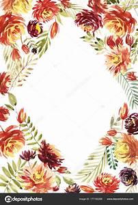 carte vintage design invitation mariage aquarelle rouge With chambre bébé design avec aquarelle fleurs pour mariage