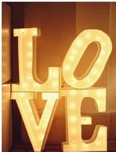letter lights wedding lights centerpieces big letters With big letters with lights