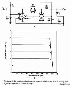 Current Limiting Regulator Circuit
