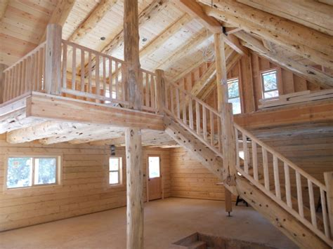 Cascade Mountain Range Log Home   Preassembled Log Homes