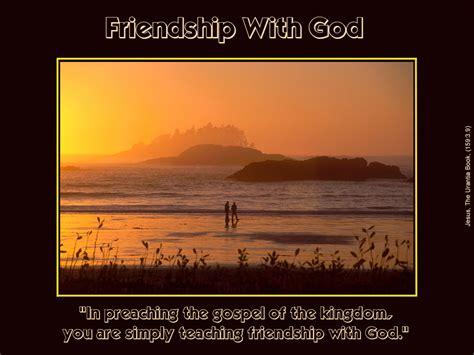 friendship  god picture