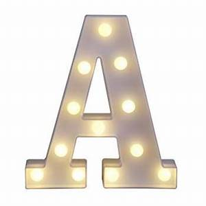Amazoncom decorative light up wooden alphabet letter for Letter lights amazon