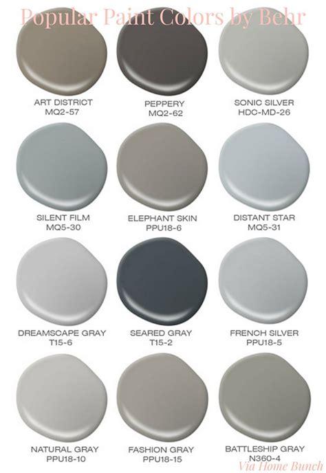 popular behr paint colors behr best sellers behr art