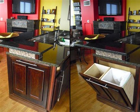 kitchen trash can ideas we definitely want a trash can and recycling