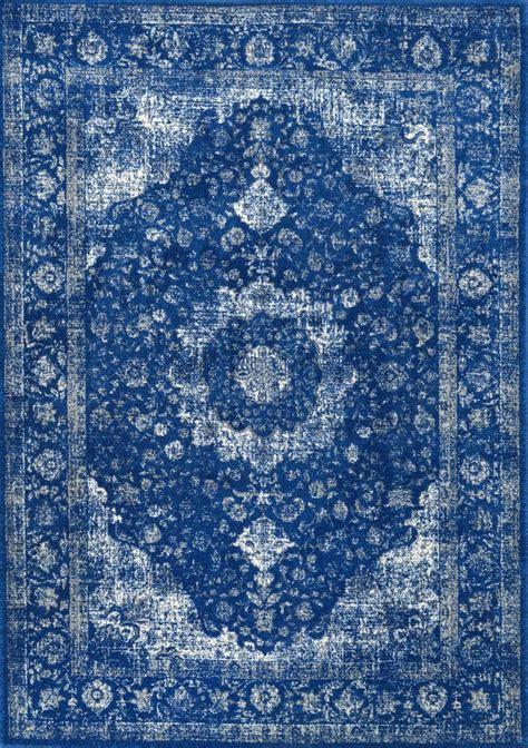 and blue rug nuloom bodrum verona rug rug plushrugs