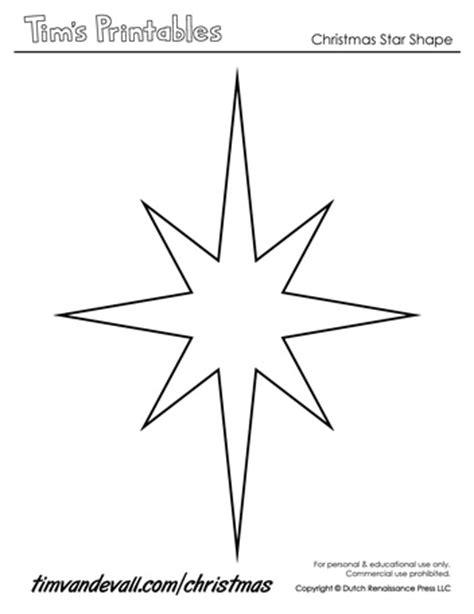 christmas star templates