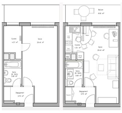 plan chambre 12m2 ordinaire amenagement chambre 12m2 9 plan de studio