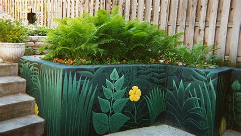 garden murals for outdoors garden mural inspiration on pinterest garden mural murals and street art