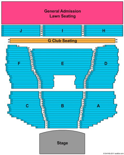 meadowbrook  cellular pavilion seating chart