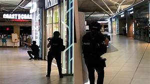 Armed police stage mock 'terror attack' at Stansted ...