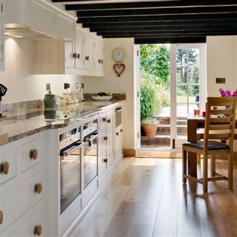 Country Galley Kitchen Designs  Video And Photos