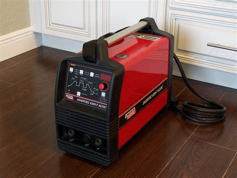 lincoln invertec v205 t ac dc inverted tig stick welder ebay