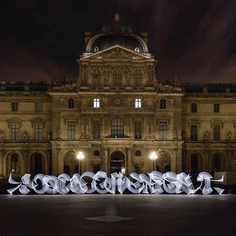 temporary calligraphy illuminates historic sites