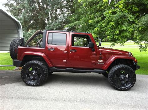 maroon jeep wrangler jeep wrangler unlimited flickr photo sharing